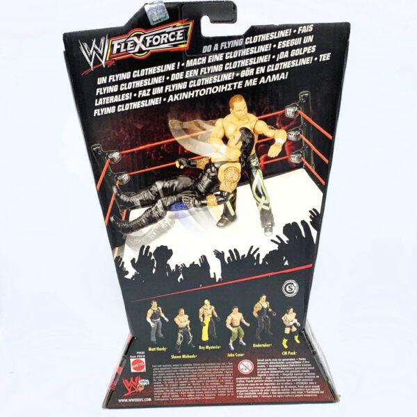 Shawn Michaels - Actionfigur aus 2010 von Mattel / WWE Flex Force hinten