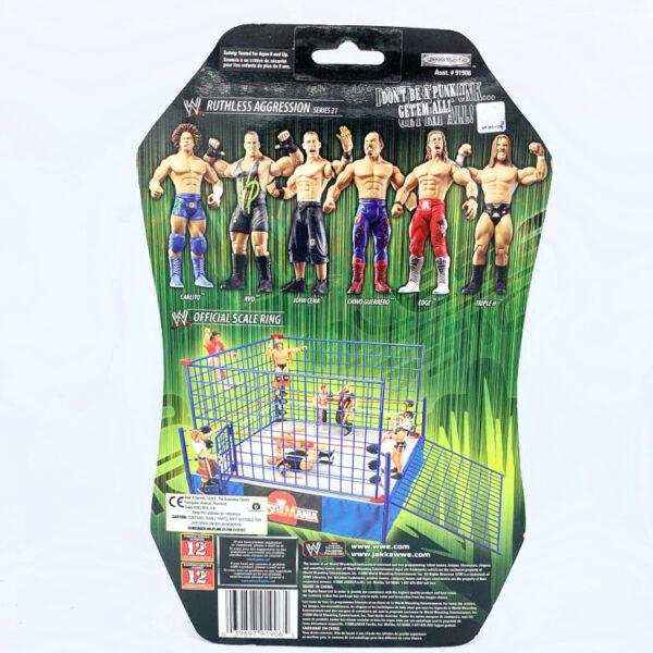 Triple H - Actionfigur aus 2006 von Jakks / WWE Ruthless Aggression hinten