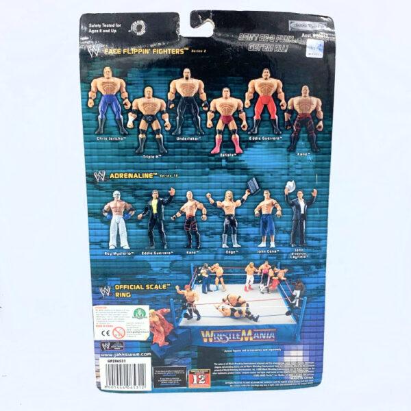 Shawn Michaels - Actionfigur aus 2005 von Jakks / WWE Ring Rage hinten
