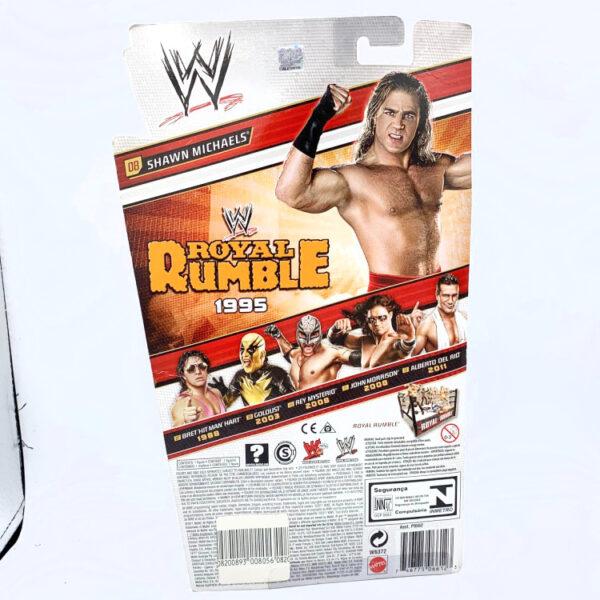 Shawn Michaels - Actionfigur aus 2011 von Mattel / WWE Royal Rumble Heritage Series hinten