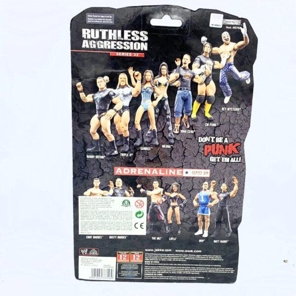 Triple H - Actionfigur aus 2008 von Jakks / WWE Ruthless Aggression hinten