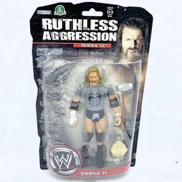 Triple H - Actionfigur aus 2008 von Jakks / WWE Ruthless Aggression