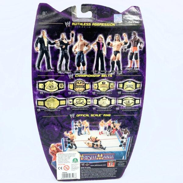 Trish Stratus - Actionfigur aus 2005 von Jakks / WWE Ruthless Aggression hinten