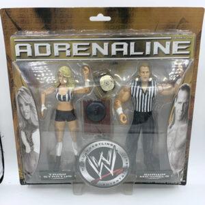 Shawn Michaels / Trish Stratus - Actionfiguren aus 2006 von Jakks / WWE Adrenaline