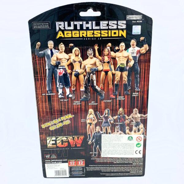Victoria - Actionfigur aus 2007 von Jakks / WWE Ruthless Aggression hinten