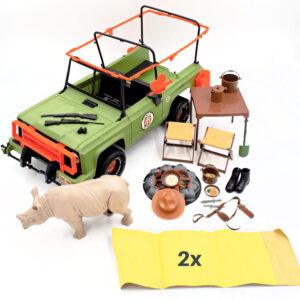 Big Jim - Jungle Petrol Jeep mit Zubehör / Mattel 70er Jahre