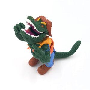 Leatherhead - Action Figur aus 1989 / Teenage Mutant Ninja Turtles #3
