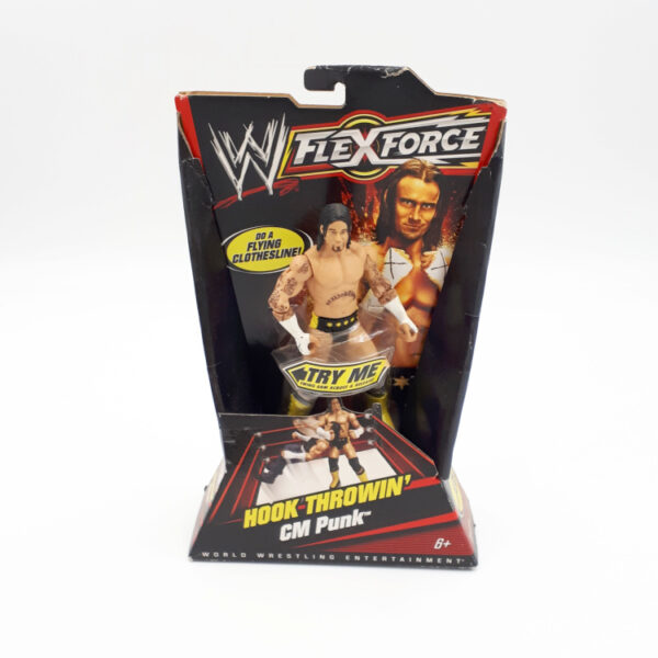 CM Punk- Actionfigur von Mattel / WWE Flex Force