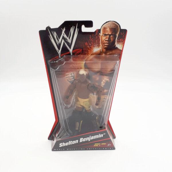 Shelton Benjamin - Actionfigur von Mattel / WWE
