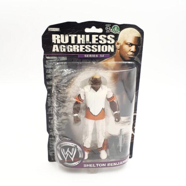 Shelton Benjamin - Actionfigur von Jakks Series 34 / WWE Ruthless Aggression