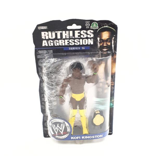 Kofi Kingston - Actionfigur von Jakks Series 36 / WWE Ruthless Aggression