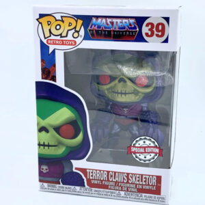 Terror Claws Skeletor Special Edition - Funko POP! Nr. 39 Animation Vinyl Figur / Masters of the Universe